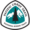 Pacific Crest Trail Marker
