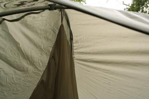 Big Agnes Seedhouse SL1 hanging the inner tent