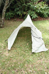 Big Agnes Seedhouse SL1 as a tarp tent